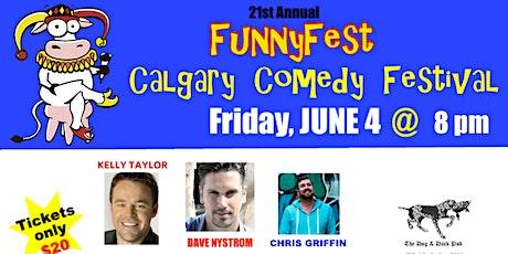 "Friday, JUNE 4, 2021 @ 8 pm - ""Comedy Extravaganza"" - 6 Headline Comedians tickets"