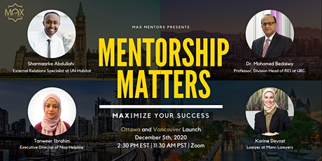 Mentorship Matters: MAXimize Your Success tickets