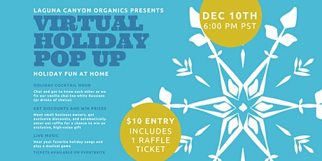 Virtual Holiday Pop Up tickets
