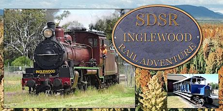 Warwick to Inglewood Return - Optional Texas Rail Facilities Tour & Lunch tickets