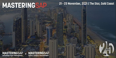 Mastering SAP  EAM + Supply Chain  & Procurement 2021 tickets