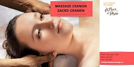 Massage Cranien/Sacro-cranien tickets