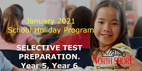 Year 5 - Selective Test Preparation - Holiday Program tickets