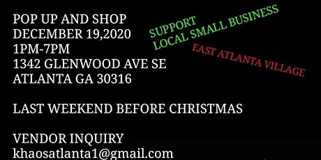 POP UP AND SHOP! tickets