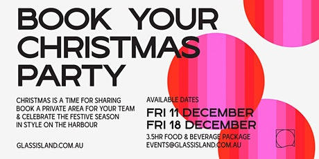 Glass Island - Shared Christmas Party tickets