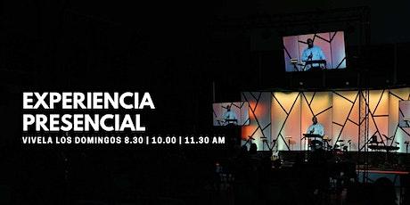 Servicio Presencial 10:00 AM boletos