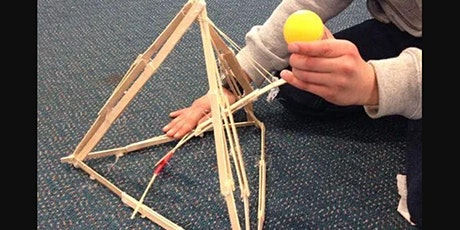 School Holidays: Create a Catapult @ Liverpool City Library  - Ages: 7-12 tickets