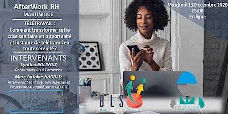 AfterWork RH Martinique - Décembre 2020 billets