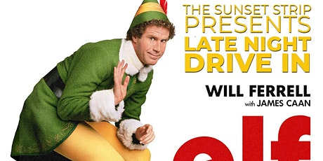 Elf drive in movie in Hollywood Los Angeles tickets