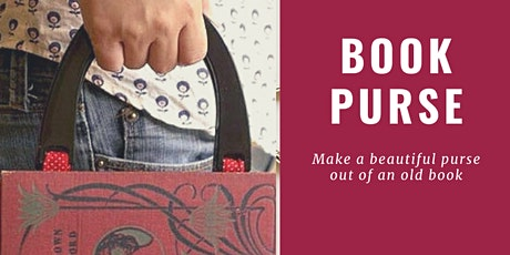 Upcycle : book purse @ Bermagui Library tickets