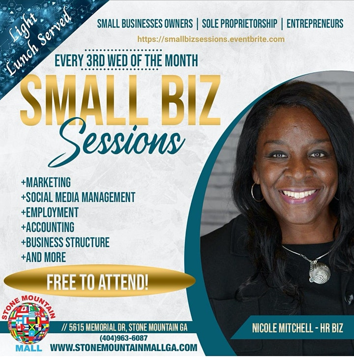 Free Small Business Session with Lunch image