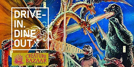 Destroy All Monsters - Drive-In Dine-Out at Tustin's Mess Hall Market tickets
