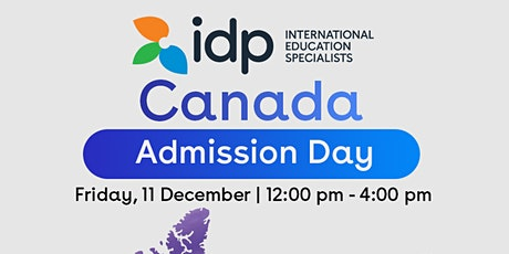 Attend Canada Admission day – Meet top Canadian Institution representative tickets
