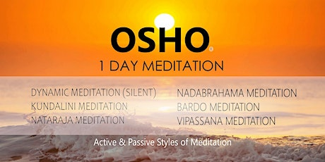 1 Day Osho Meditation Event tickets