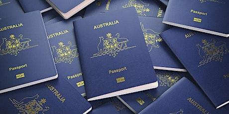 Workshop - Planejamento de Imigração para Austrália tickets