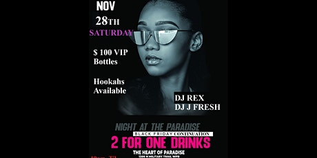 The Heart of Paradise Presents Black Friday Continuation tickets