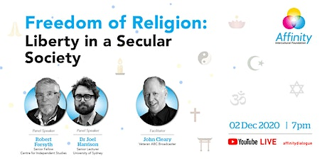 Freedom of Religion: Liberty in a Secular Society tickets