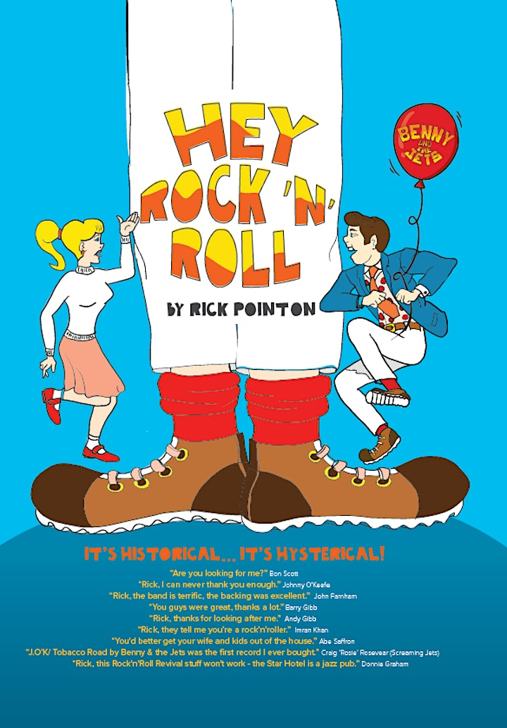 Hey Rock 'n' Roll  with Rick Pointon in Words and Music image