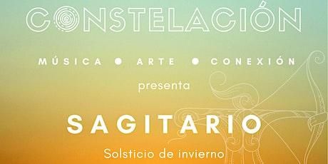 """Constelación presenta """"Sagitario: Solsticio de Invierno"""" boletos"""