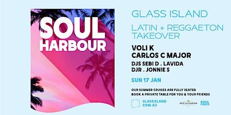 Glass Island pres. Soul Harbour - Latin & Reggaeton Takeover - Sun 17 Jan tickets
