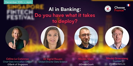 AI in Banking:  Do you have what it takes to deploy? tickets