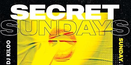 SECRET SUNDAYS tickets