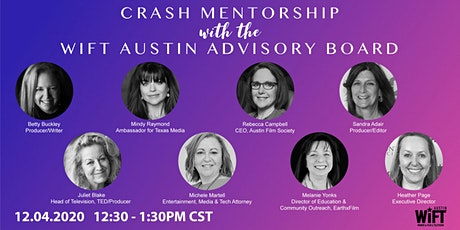 Crash Mentorship with the WIFT Austin Advisory Board tickets