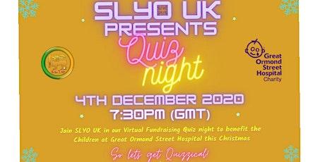 SLYO UK Quiz Night tickets