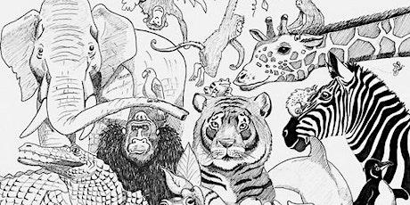 Cartoon drawing workshop @ Moruya Library tickets