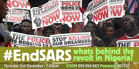 #EndSARS - what's behind the revolt in Nigeria? tickets