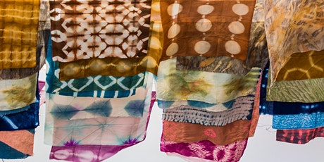 Shibori and Naturally Dyed Flags tickets