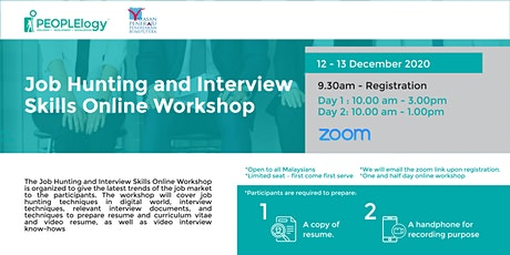 Job Hunting and Interview Skills Online Workshop tickets