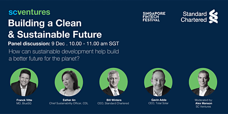 Standard Chartered presents: Building a Clean and Sustainable Future tickets