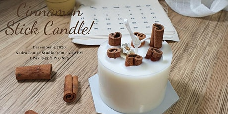 Cinnamon Stick Candle tickets