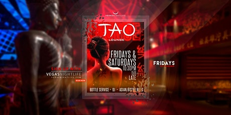 TAO Friday Nights Las Vegas tickets