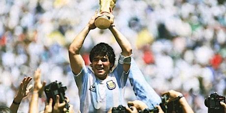Maradona sul grande schermo biglietti