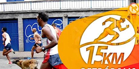 CORRIDA 15K PETRÓPOLIS ITAIPAVA - 14.03.2021 tickets