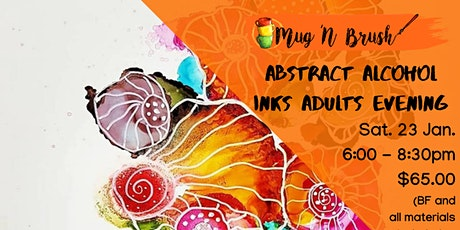 Abstract Alcohol Inks tickets