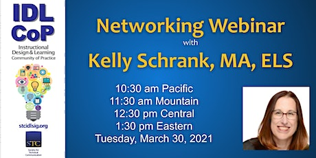 Engineering Your Networking Experience with Kelly Schrank, MA, ELS tickets