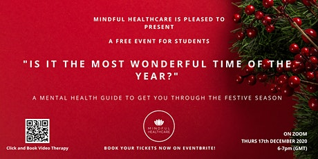 """Is it the most wonderful time of the year?"" tickets"