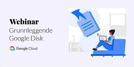 Webinar - Grunnleggende Google Disk tickets