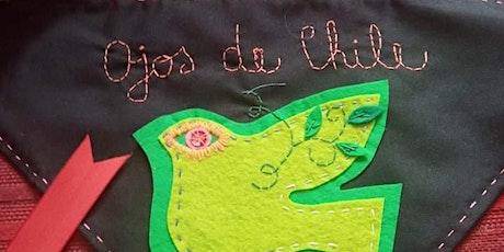 Taller de bordado: Ojos de Chile entradas