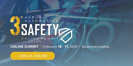 3rd Annual Automotive Safety Online Summit tickets