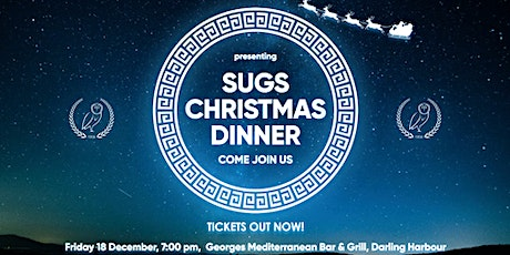 SUGS CHRISTMAS DINNER tickets