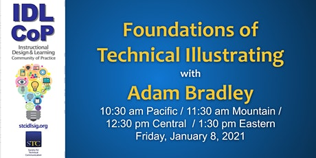 Foundations of Technical Illustrating with Adam Bradley tickets