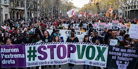 Vermutejant: Presentació Plataforma Unitat Contra el Feixisme i el racisme entradas