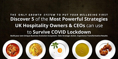 UK Hospitality Businesses: How To Survive COVID Lockdowns & Make A Profit tickets