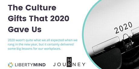 The Culture Gifts That 2020 Gave Us {WEBINAR} tickets