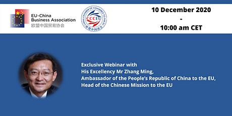 Webinar with the  Ambassador of the People's Republic of China to the EU tickets