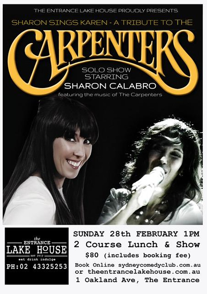 A Tribute to the Carpenters - Sharon Sings Karen image